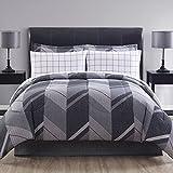 Ellison Great Value Reid II 8 Piece Bed in a Bag, Full, Gray