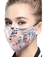 ZWZCYZ Masks Dust Mask Anti Pollution PM25 4 Layer Activated Carbon Filter Insert