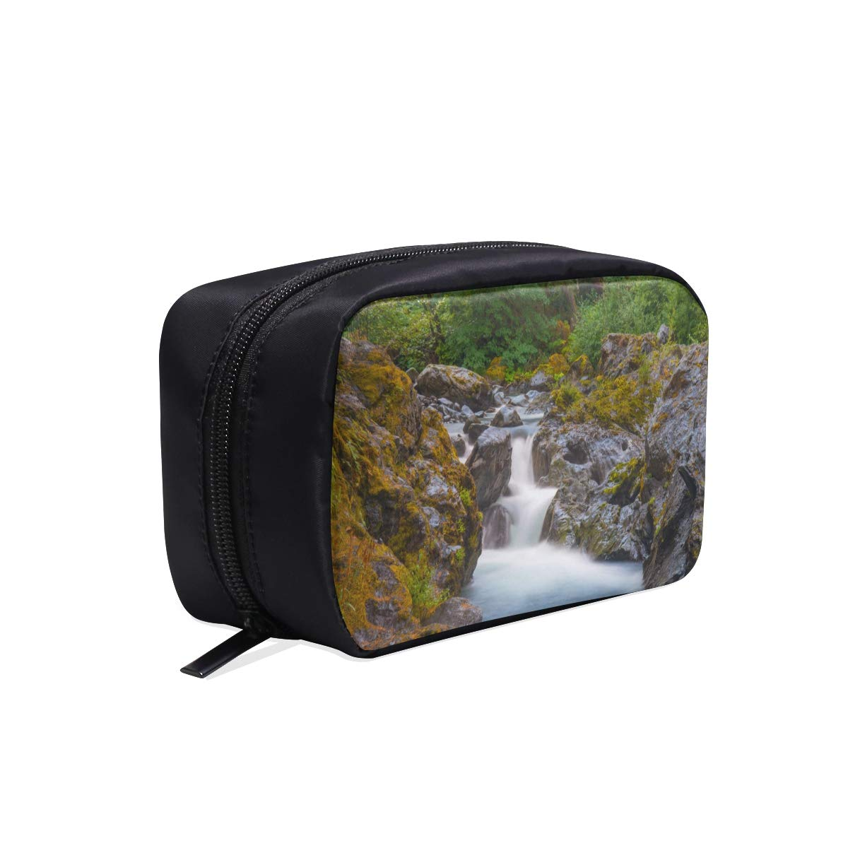 Hermoso Deep Forest Waterfall Portable Travel Maquillaje Bolsas de ...