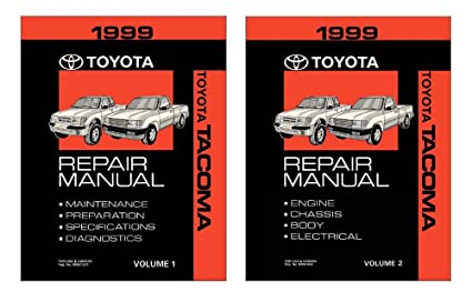 amazon com bishko automotive literature 1999 toyota tacoma shop rh amazon com 2013 tacoma service manual 2015 tacoma service manual