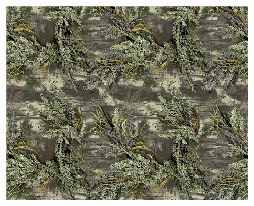 Camowraps (PCSRM1) 4' x 5' Premium Cast Camouflage Sheet with Realtree Max-1 Pattern - Max 4 Camo Pattern
