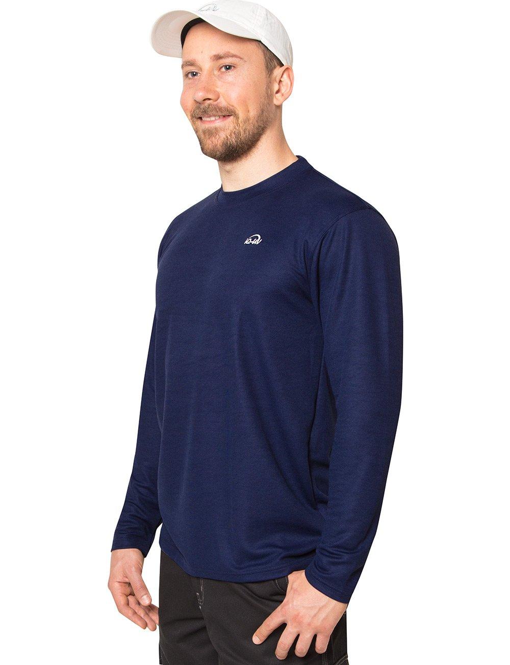 IQ-UV Herren 50+ Sonnenschutz mit Rundhals, Regular Schutz Geschnitten T-Shirt Langarm Schutz Regular f84128