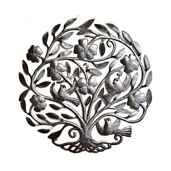 Tree-of-life-with-Flowers-Nature-Inspired-Metal-Wall-Art-Hang-indoor-or-outdoors-225-X-23