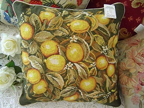 New Royal Collection Handmade Wool Needlepoint Cushion Cover Sham NP513