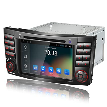 Amaseaudio Upgrade 7 Inch TFT LCD Android 7.1 2GB RAM Car GPS Navigation System Units for