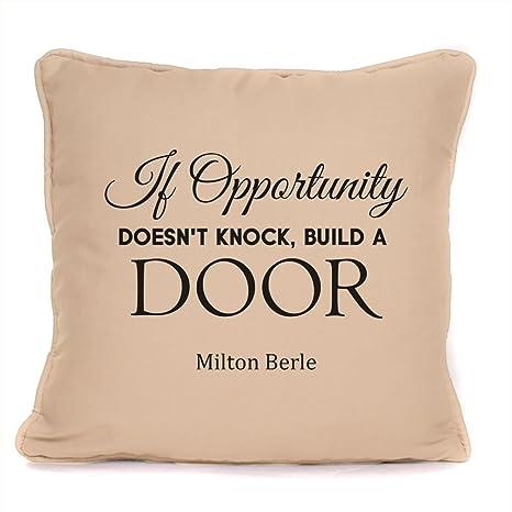 Amazon.com: Milton Berle Si oportunidad doesn t Knock ...