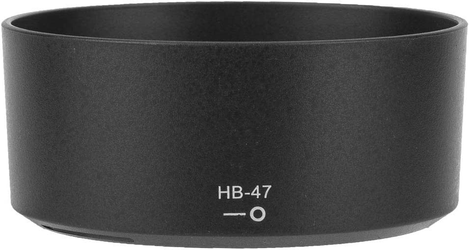 Side Light Flash or Night Photography Bewinner Camera Hood,HB-47 ABS Camera Mount Lens Hood Replacement for Nikon AF-S 50mm f//1.4G Lens,Avoid Haze During Backlight