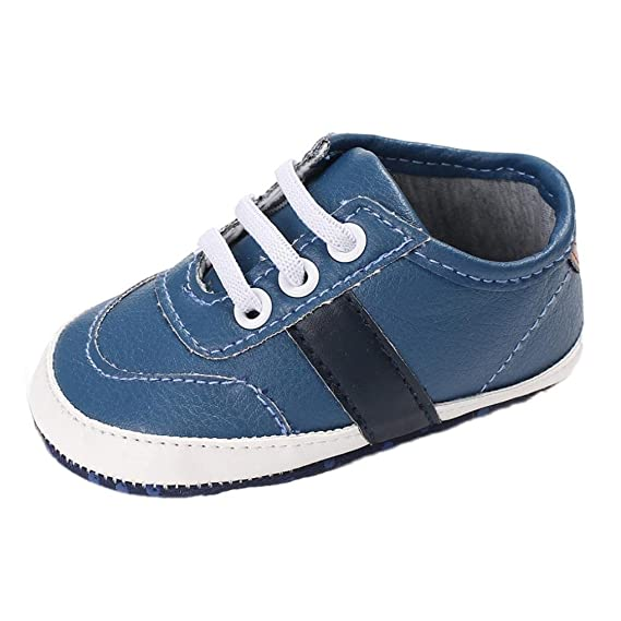 97f4f8b218 MEIbax Baby Mädchen Boys Frenulum Brief Schuhe Sneaker Turnschuhe  Anti-Rutsch-Schuhe Sportschuhe Babyschuhe Lauflernschuhe: Amazon.de:  Bekleidung