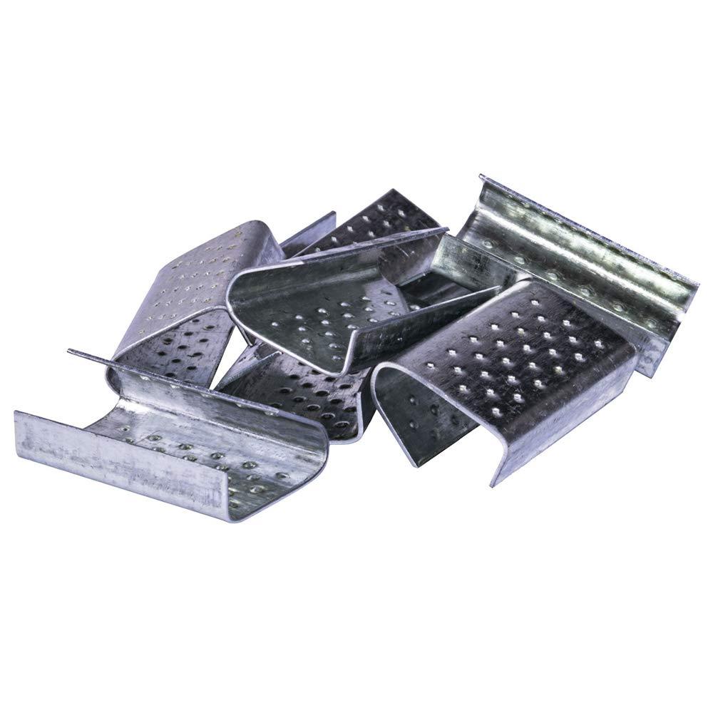 Manchon pour ruban de marquage en plastique 13 x 28 x 0,6 mm Linder Lot de 1000 manchons de fermeture pour ruban PP