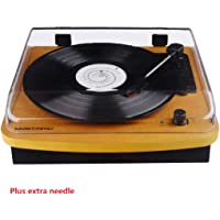Record Player 3 Speed Turntable Vintage Record Player with Speaker