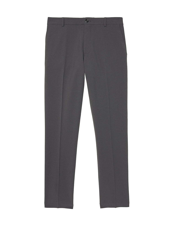 Van Heusen Mens Slim Fit Flex Flat Front Pant