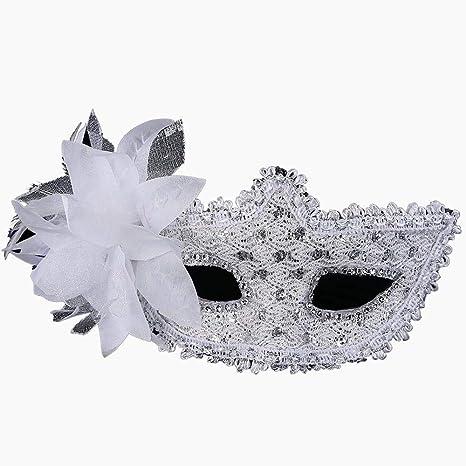 Máscara de Venecia atractivo del cordón de las mujeres Snner ...