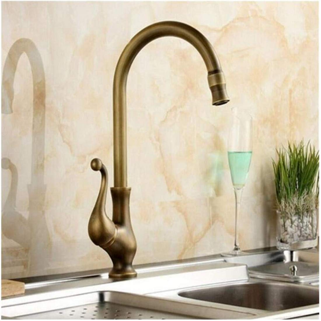 Modern High Quality Vintage Faucetfaucet Design Crane Antique Brass Mixer Tap