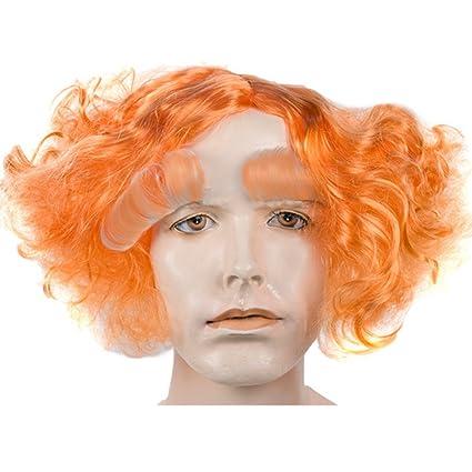 Alicia en el País de las maravillas sombrerero loco Set película libro Naranja rojo disfraz para