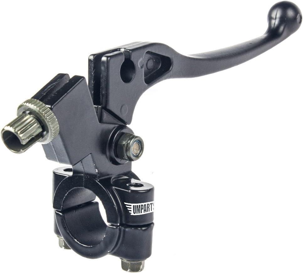 1PZ CLB-001 LEFT CLUTCH LEVER PERCH ASSEMBLY for HONDA Black XR50 XR70 XR80 XR100 XR200 PIT//DIRT BIKE