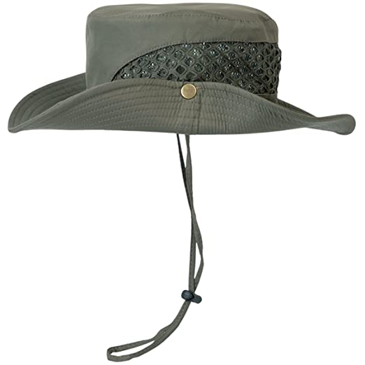 d0a9a079c5af17 Lanzom Summer Outdoor Bucket Sun Cap Fishing Camping Hunting Hiking Sun Hat  UPF 50+ (