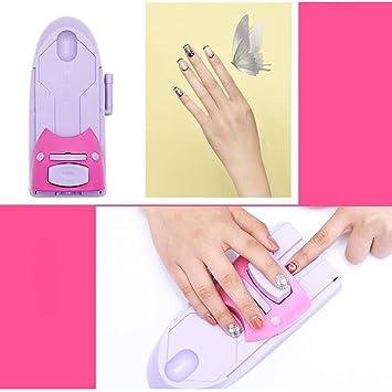 Diy Kit De Estampador De Uñas De Impresión Impresora Máquina Máquina De Manicura Diy Nail Art Printer Patrón De Impresión De Dibujo Nail Art Sello Stamper Nail Art