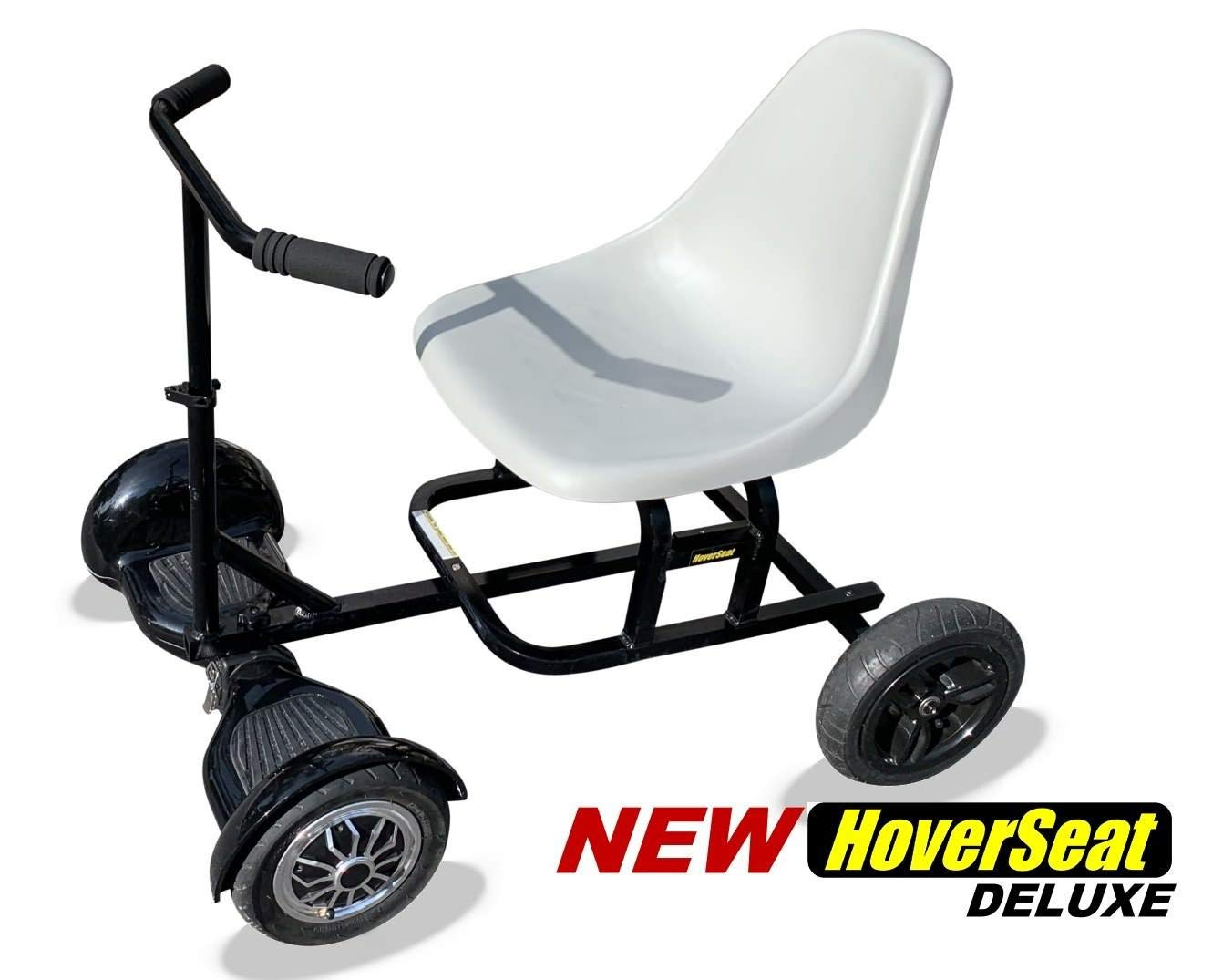 HoverSeat Deluxe - Seating Attachment for Hoverboard Self Balancing Scooter. Now Comes with Handle bar and Molded seat. by HoverSeat