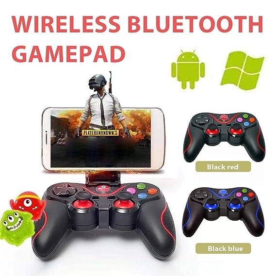 Pultus Controller di Gioco Bluetooth Senza Fili Gamepad Joystick per iPhone Android PS3 PC Laptop Gaming Control Ventole e sistemi di raffreddamento Controller per ventole