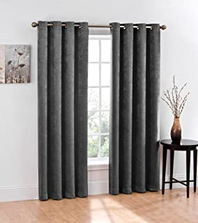 Curtains Ideas curtains jcpenney home collection : Amazon.com: JCPenney home LINDEN STREET HERRINGBONE GROMMET PANEL ...