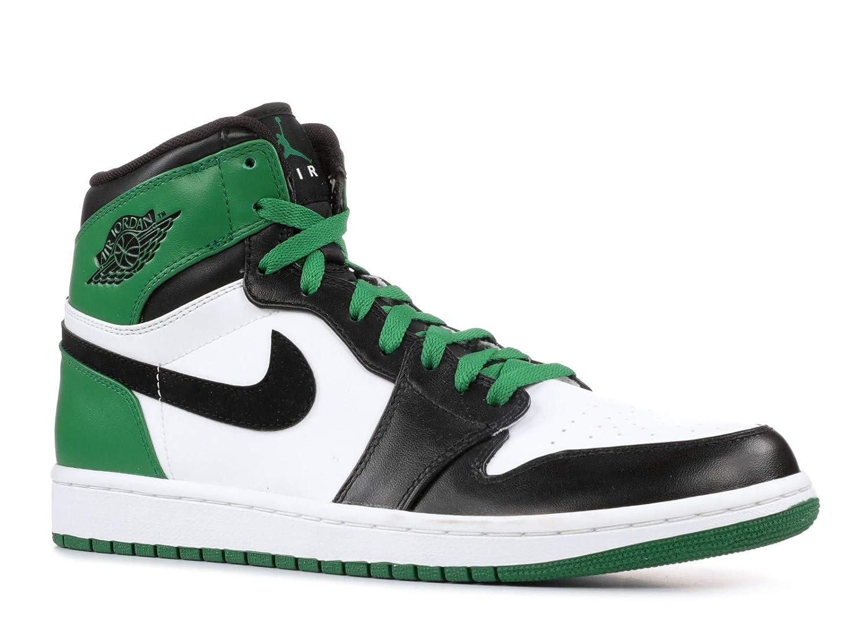 reputable site 24fa0 bc614 Amazon.com   Air Jordan 1 High Retro  Boston Celtics  - 332550-101 - Size  13   Basketball