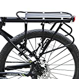 Bike Cargo Racks Bicycle Luggage Carrier Rear Pannier Rack, Yopoon 396 lb Capacity Adjustable with Quick Release