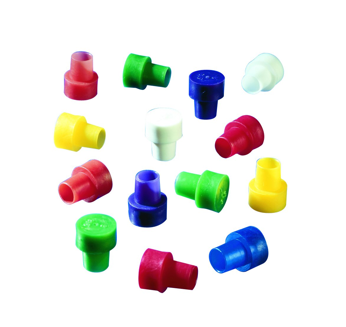 Wilmad 521-ASST-1000 Lab Glass Disposable Caps for 5 mm OD NMR Tubes (Pack of 1000) by Wilmad (Image #1)