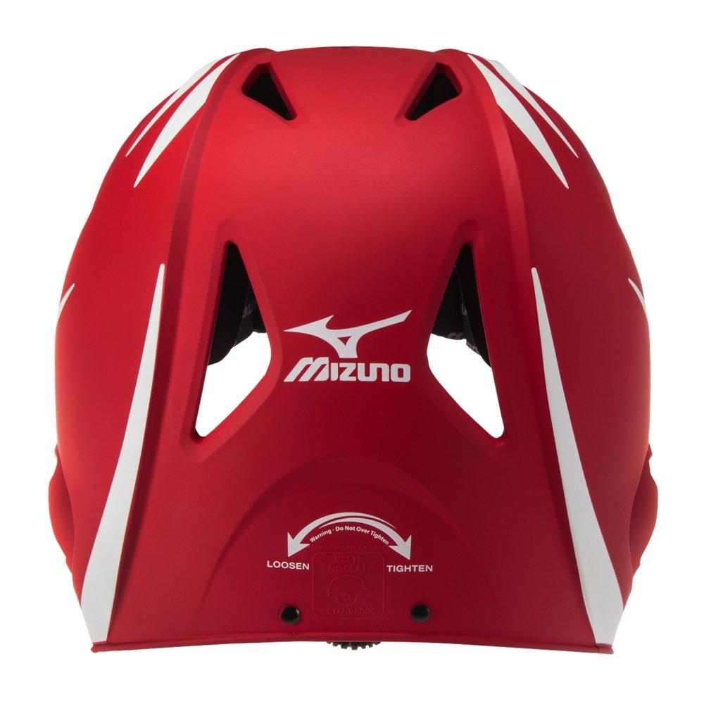 Mizuno MVP G2 Batters Helmet Red White 380314.1000.01.0000