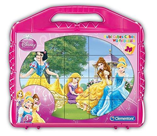 Clementoni Princess Cubes Puzzle (24 Piece)