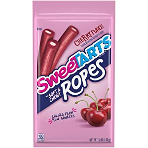 SweeTARTS Ropes, Cherry Punch, 5 Ounce, 12 Count