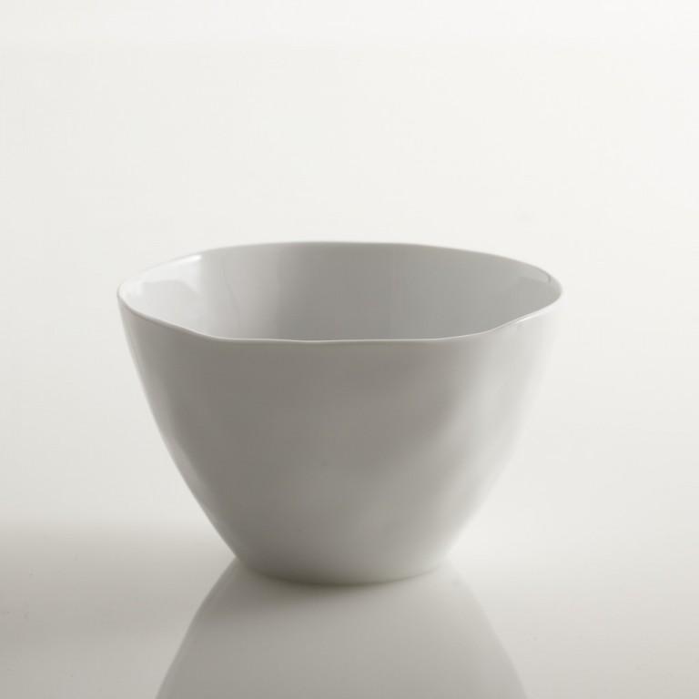 Sculptured Dishware - Cereal Bowl (Set of 4) white