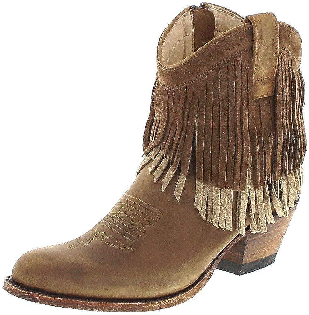 Sendra Tang Damen Lederstiefel Stiefelette 13876 Boots eDW29IYEH