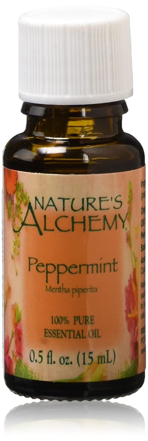 Nature's Alchemy Pure Essential Oil, Peppermint, 0.125 Gram