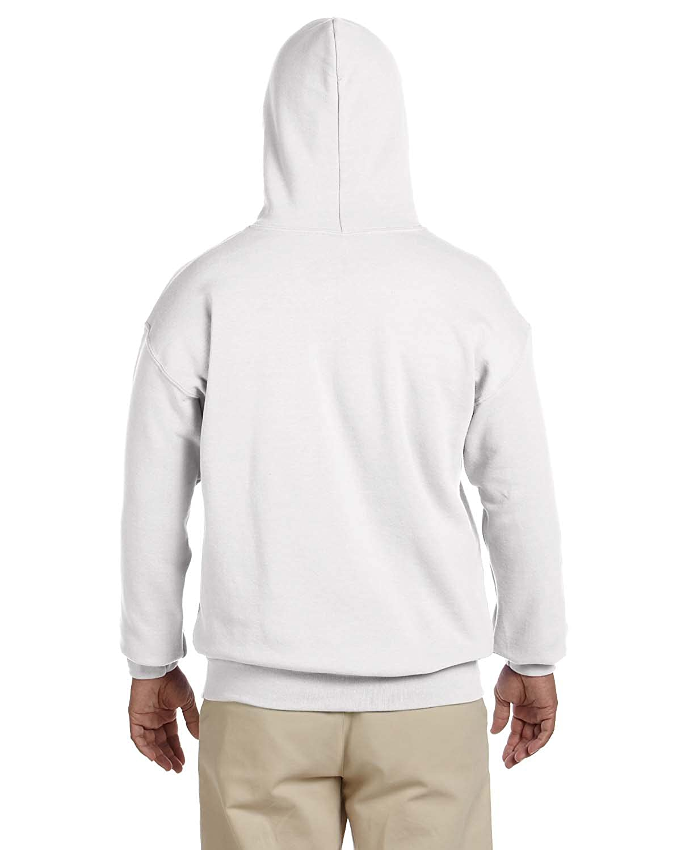Heavy Blend? 50//50 Hood G185 -WHITE -3XL-12PK Gildan Mens 7.75 oz