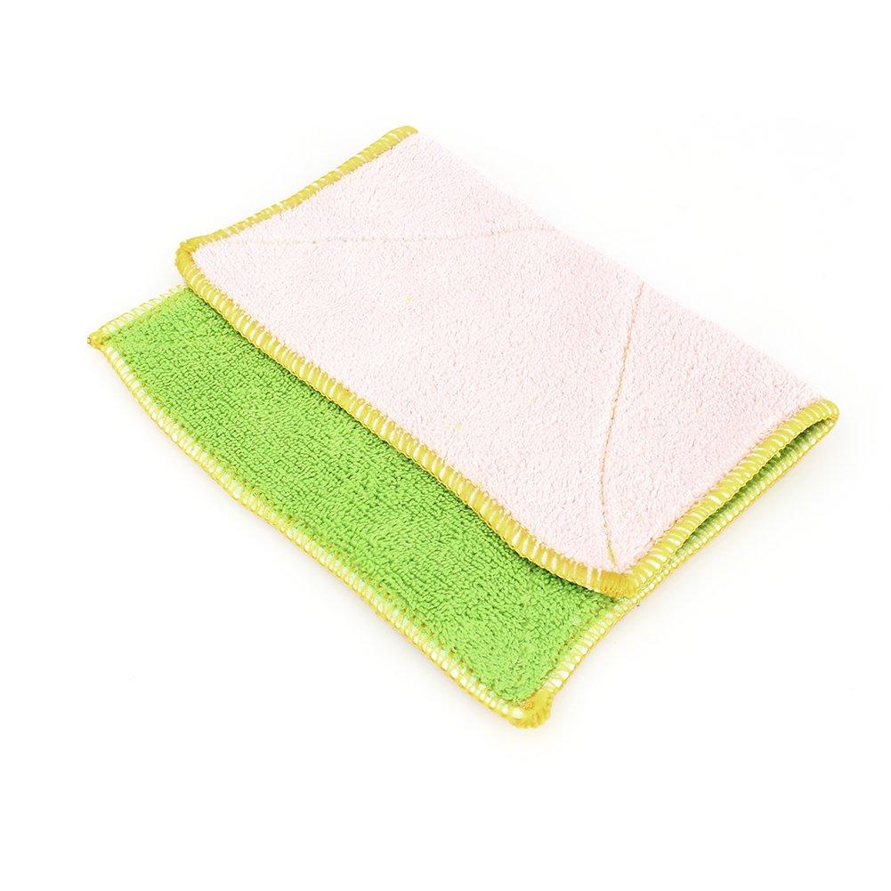 Yosoo Dish Cloth Towel,10 Pack - Bamboo Fiber Dish Towel Kitchen Clean Towels Dishcloth Household Wash Rag, 10.2 x 6.2 by Yosoo (Image #3)
