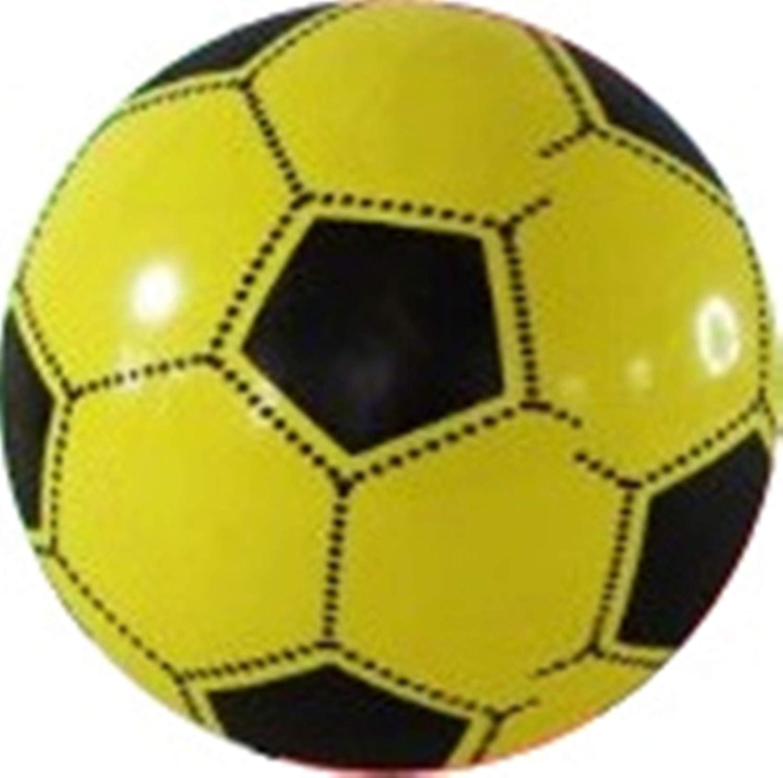 taschen-rucksack24de Fútbol 23cm Plástico Plástico Plástico Pelota Balón de Agua Niños Selección de Colores Azul Rojo Verde Rosa Amarillo