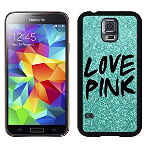 Unique Samsung Galaxy S5 Case Design with Victoria's Secret Love Pink 11 Black Phone Case for Samsung Galaxy S5 by ruishername