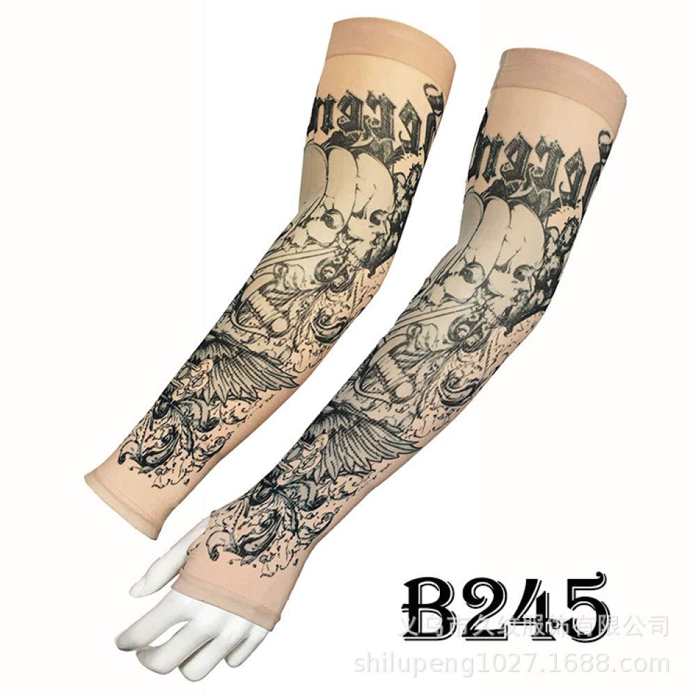 tzxdbh Mangas de Tatuaje de Hielo Mangas de Seda de Hielo Los ...