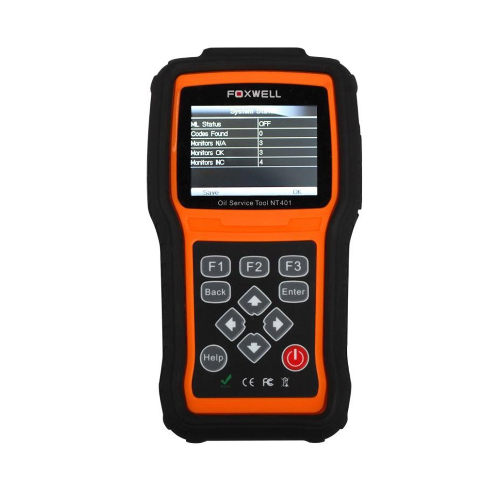 Foxwell NT401 Oil Reset Tool Auto Scanner Diagnostic Tools Car Scanners Automotive Light Service