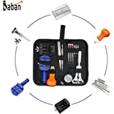 【Promotion】Baban 13PCS Watch Repair Kit Professional Spring Bar Tool Set of Remover Opener and Watch Holder with Carrying Case