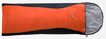 Oztrail - Saco de dormir con capucha Blaxland para usar con temperaturas mínimas de -5ºC