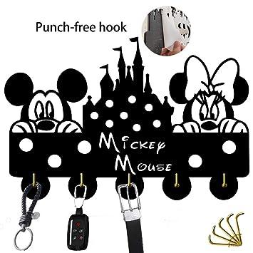 Amazon.com: Disney - Ganchos autoadhesivos para llaves de ...