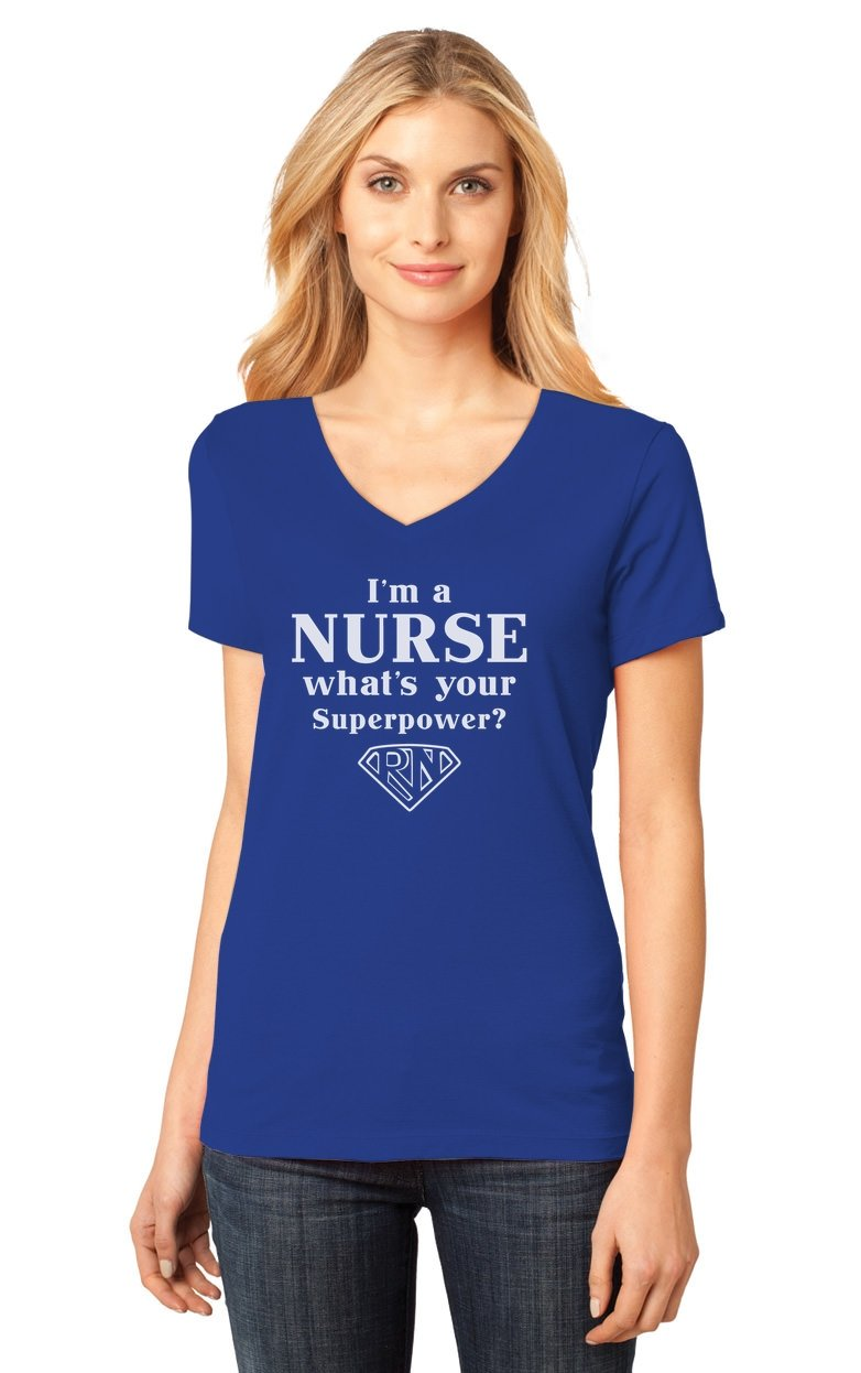 I M A Nurse What S Your Superpower Nurses Gift Ted T Shirt 1434