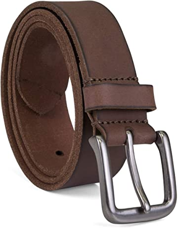 e8e9342c8 Timberland Men's Classic Leather Jean Belt