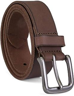 ca8f2ca83f Timberland - Cinturón de piel para hombre  Amazon.com.mx  Ropa ...
