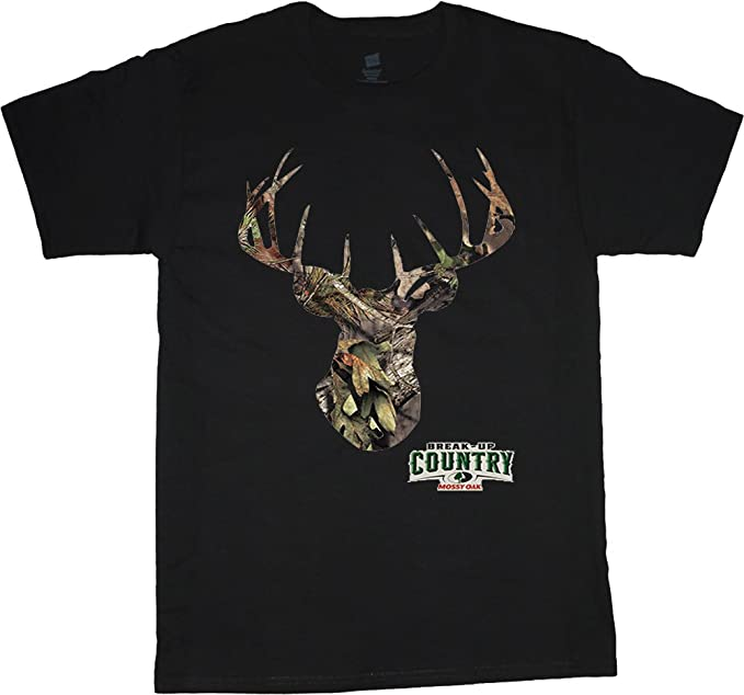 accf8fd77394 Big and Tall shirt Mossy Oak deer hunting tee | Amazon.com