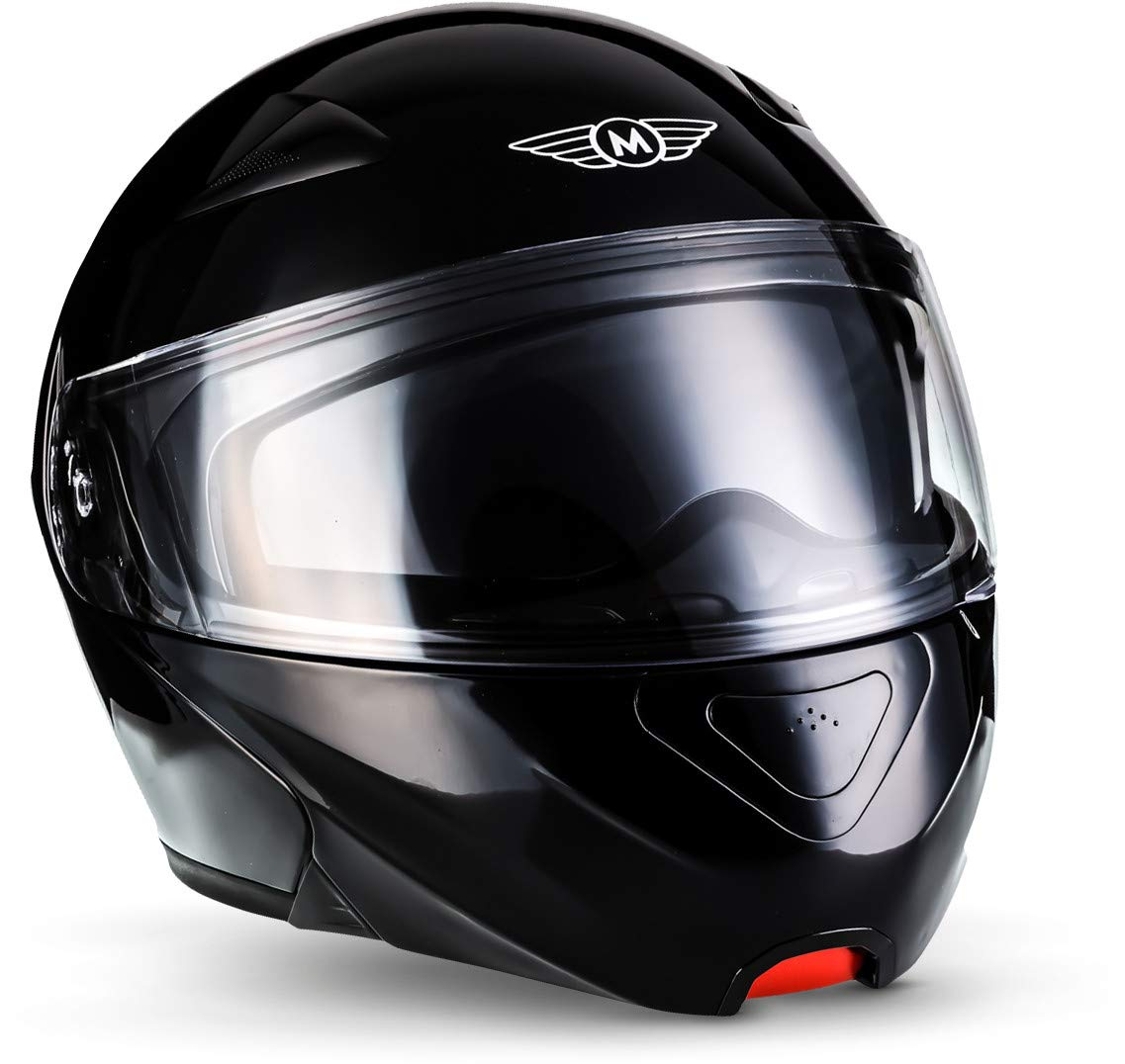 "Moto Helmets/® F19 /""Venice Creme/"" /· Motorrad-Helm /· Klapp-Helm Modular-Helm Flip-up Integral-Helm Motorrad-Helm Roller-Helm Full-Face Cruiser /· ECE Sonnenvisier Schnellverschluss Tasche XL 61-62cm"