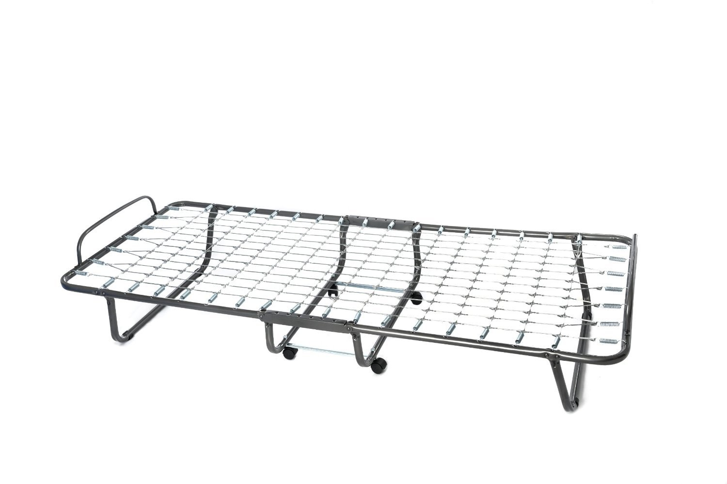 74 by 31-Inches Milliard Lightweight Folding Bed with Mattress Cot ...