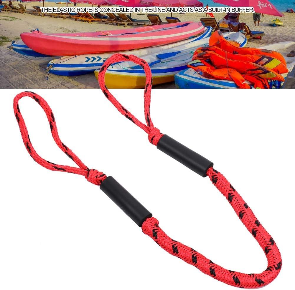Ausla Bungee Dock Line 4-5.5 ft Festmacher Stretch Rope f/ür Boot