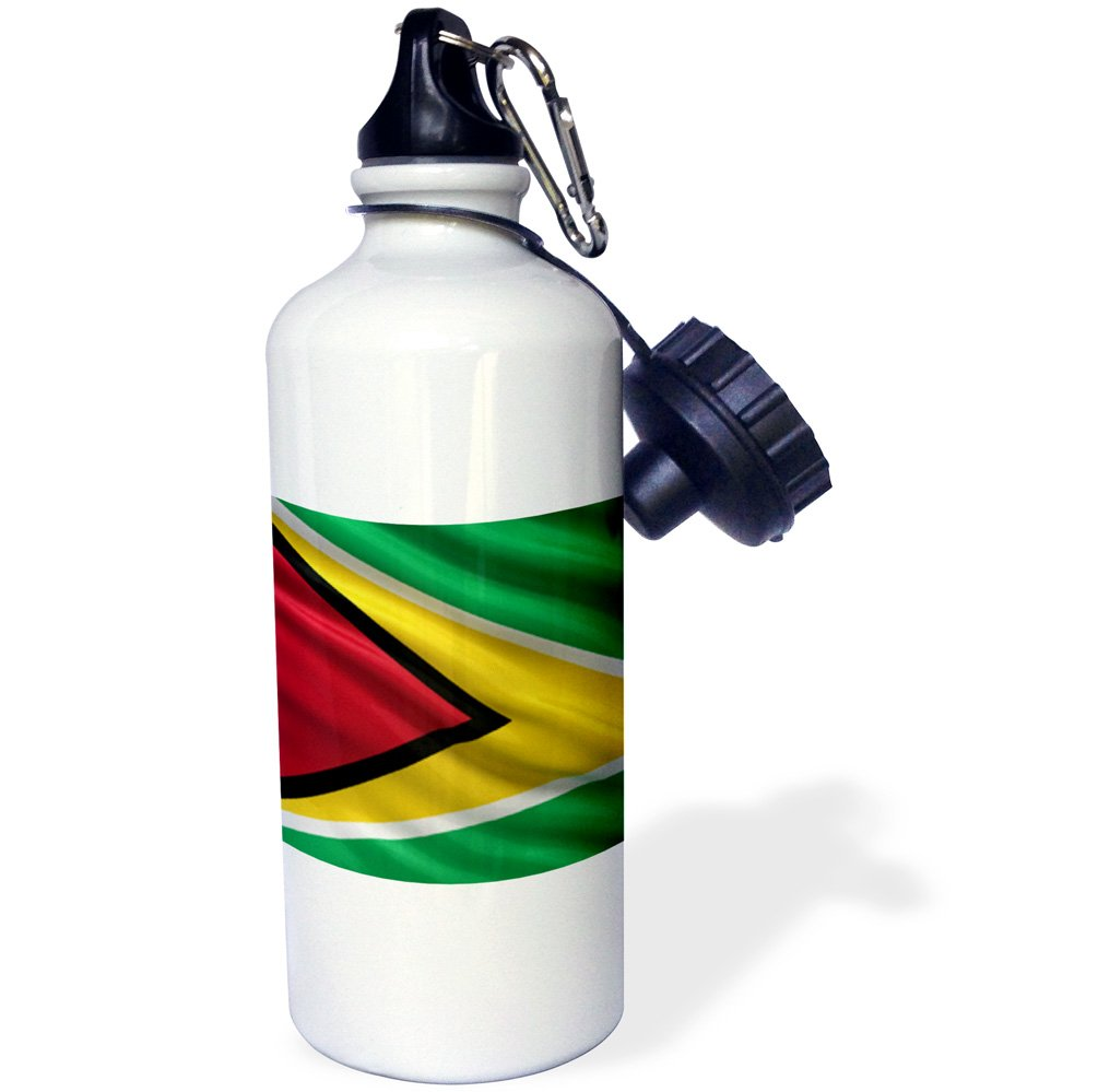 wb/_178068/_1 21oz Multicolored 3dRose Flag of Guyana Waving in The Wind-Sports Water Bottle